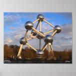 """Atomium Poster, 10"""" x 7.5"""""""