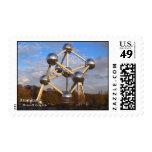 Atomium Stamp