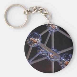 atomkeychain basic round button keychain