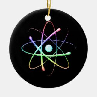 Átomo (008) ornamentos de navidad
