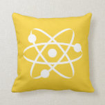 Átomo ambarino amarillo almohadas