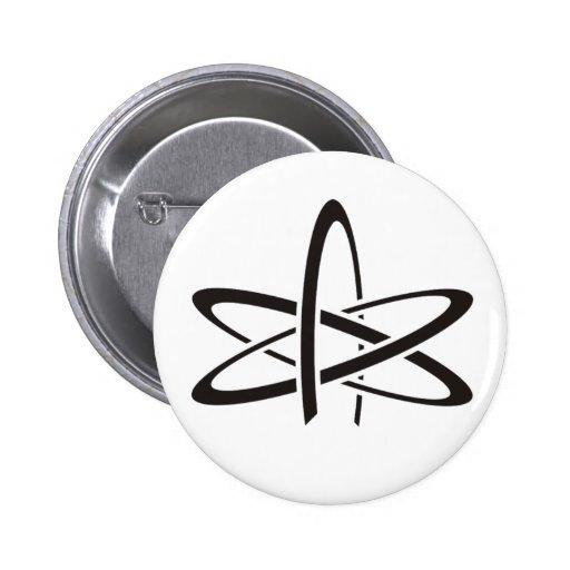 Átomo ateo pin