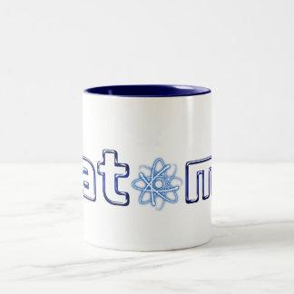Átomo azul - taza