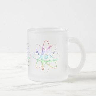 Átomo colorido - taza