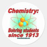 Átomo de Bohr Etiquetas Redondas
