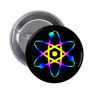 átomo de la ciencia pins