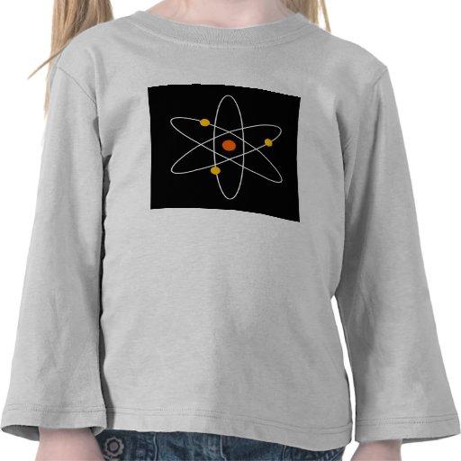Átomo de la ciencia camisetas