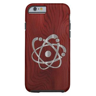 Átomo del cromo funda de iPhone 6 tough