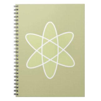 Átomo Libro De Apuntes Con Espiral