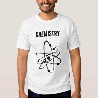 Átomo para la química remera