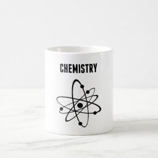 Átomo para la química taza clásica