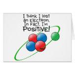 Átomo positivo felicitación