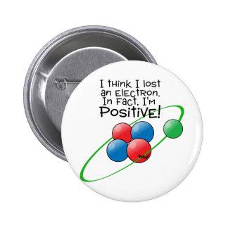 Átomo positivo pins