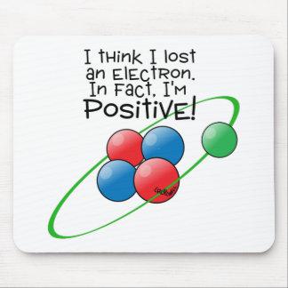 Átomo positivo tapete de raton