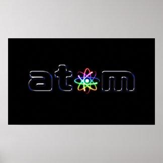 Átomo - poster único