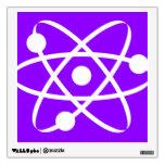 Átomo púrpura violeta