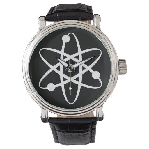 átomo relojes de mano