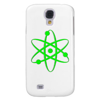 átomo verde claro