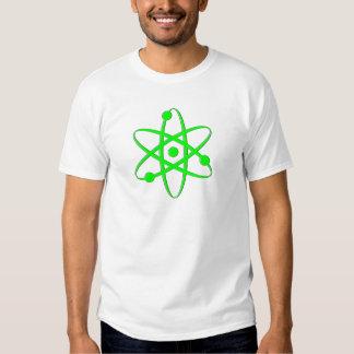 átomo verde claro camisas