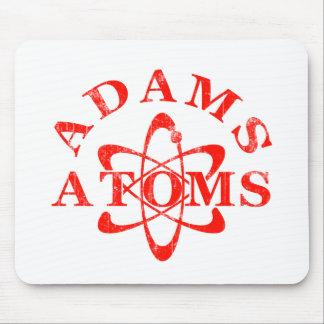 Átomos de Adams de los empollones Alfombrillas De Ratón