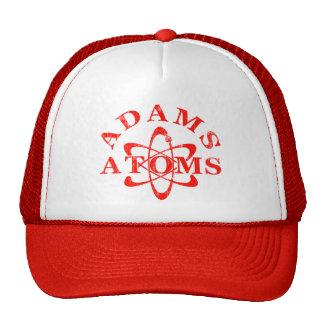 Átomos de Adams de los empollones Gorras
