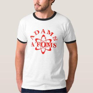 Átomos de Adams de los empollones Remera