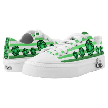 Beach Themed Atoms ~ Beach Party Time ~ Music ~ Swimming ~ Low-Top Sneakers