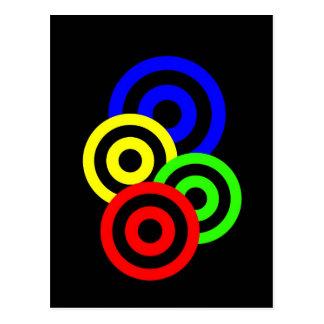 Atoms - Circular? Postcard