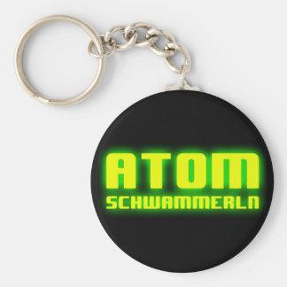 Atomschwammerln Basic Round Button Keychain
