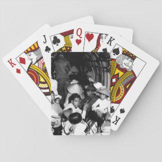 Atontado por el salvajismo de un ataque o de Viet Cartas De Póquer