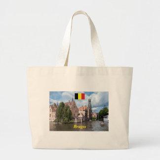 ¡Atontamiento! Brujas - Bélgica Bolsa Tela Grande