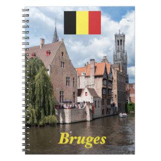 ¡Atontamiento! Brujas - Bélgica Libros De Apuntes Con Espiral