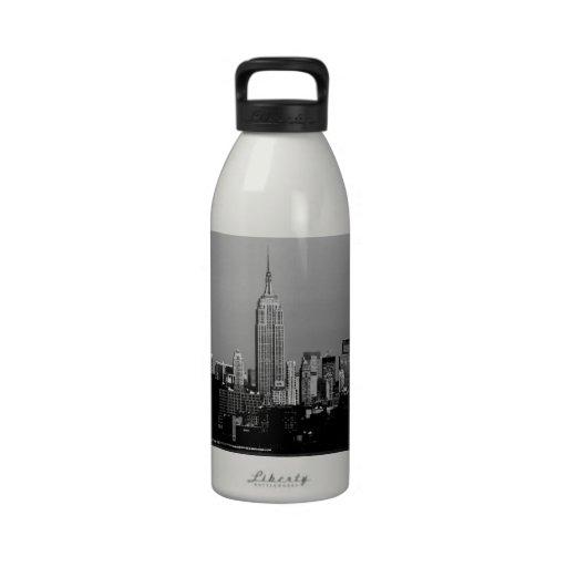 ¡Atontamiento! Empire State Building New York City Botella De Beber