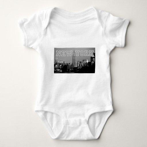 ¡Atontamiento! Empire State Building New York City Body Para Bebé