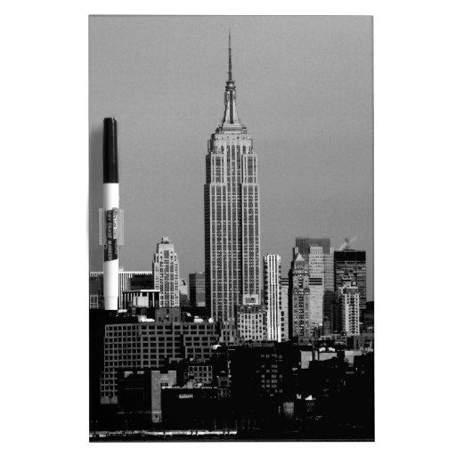¡Atontamiento! Empire State Building New York City Pizarra Blanca