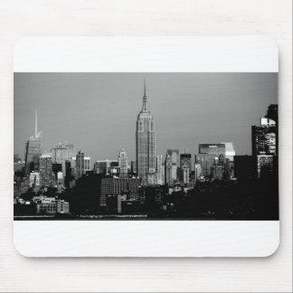 ¡Atontamiento! Empire State Building New York City Alfombrillas De Ratón