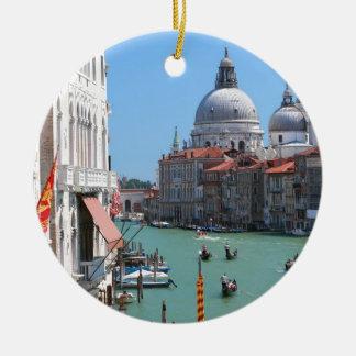 ¡Atontamiento! Gran Canal Venecia Ornamento Para Reyes Magos