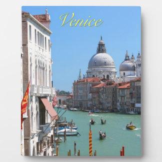 ¡Atontamiento Gran Canal Venecia Placas Con Foto