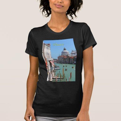 ¡Atontamiento! Gran Canal Venecia Playeras