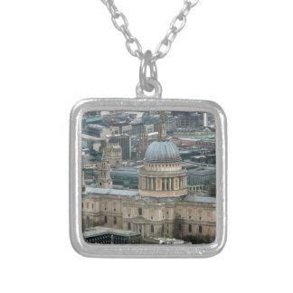 ¡Atontamiento! La catedral Londres de San Pablo Colgante Cuadrado