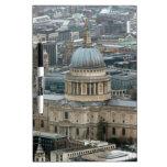 ¡Atontamiento! La catedral Londres de San Pablo Pizarras Blancas