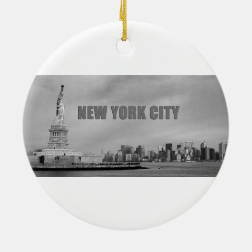 Atontamiento New York City Adorno Para Reyes