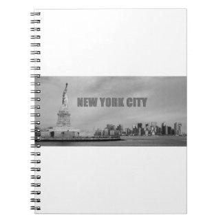 Atontamiento New York City Libreta Espiral