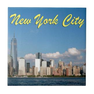 Atontamiento New York City los E.E.U.U. Teja Cerámica