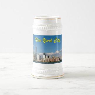 Atontamiento New York City los E.E.U.U. Jarra De Cerveza