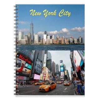Atontamiento New York City los E.E.U.U. Libretas Espirales