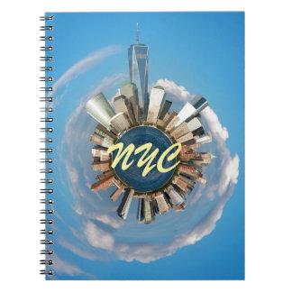 ¡Atontamiento! New York City los E.E.U.U. Libro De Apuntes Con Espiral