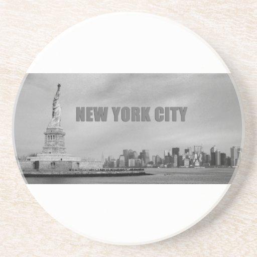 Atontamiento New York City Posavasos Diseño