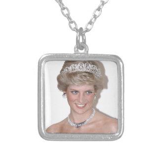 ¡Atontamiento! Princesa Diana de HRH Colgante Cuadrado