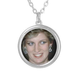 ¡Atontamiento! Princesa Diana de HRH Colgante Redondo